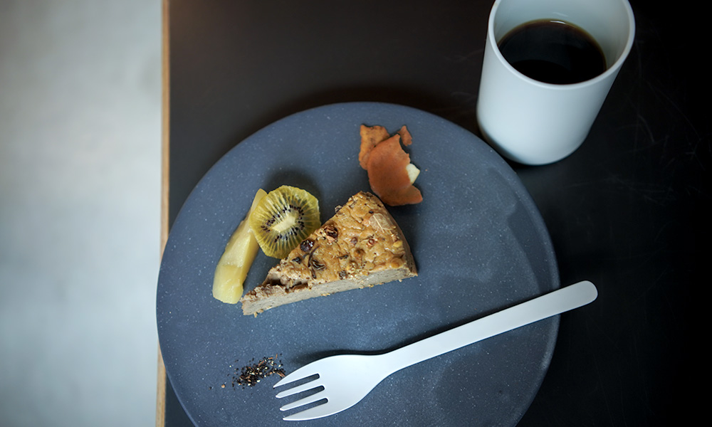 カレーとチーズケーキのお店 TOWNZ ほうじ茶チーズケーキ
