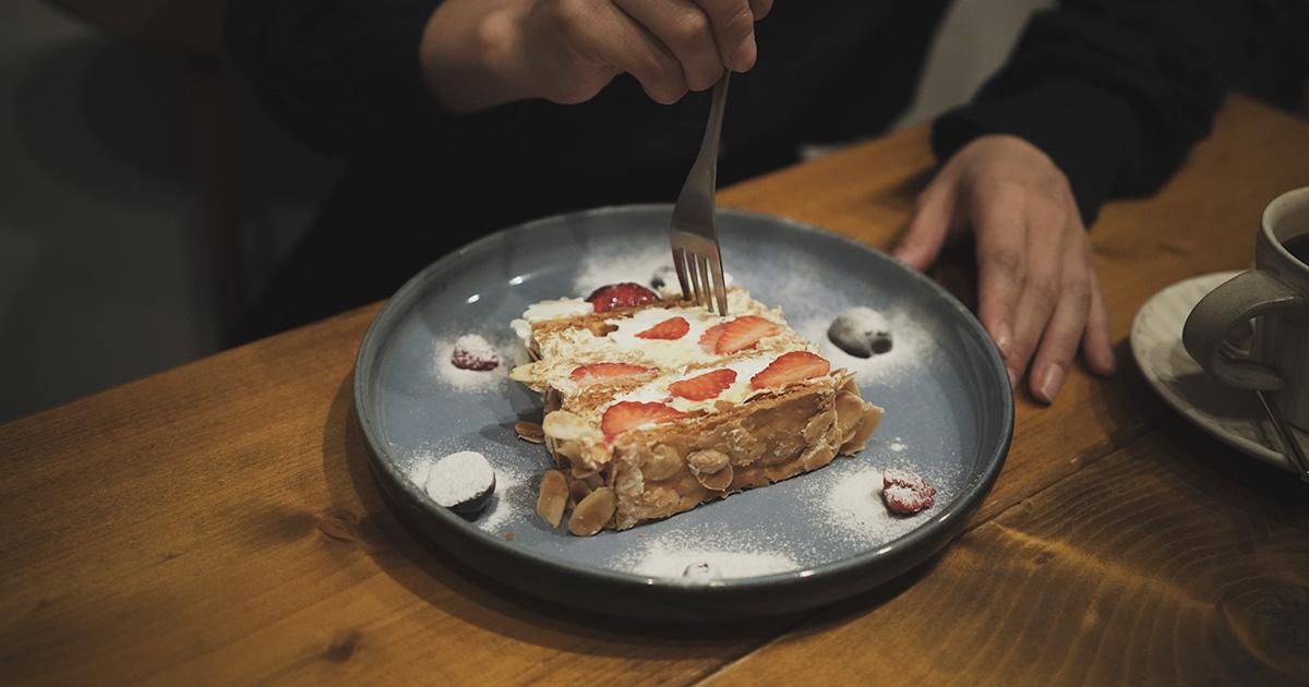 【福岡】美味しすぎるナポレオンパイ。  平尾で人気のMOMOTOSEで、ランチを。