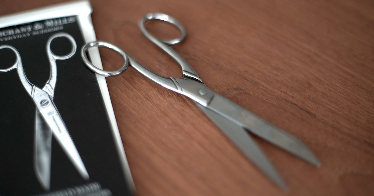 MERCHANT & MILLS のはさみ【EVERYDAY SCISSORS】