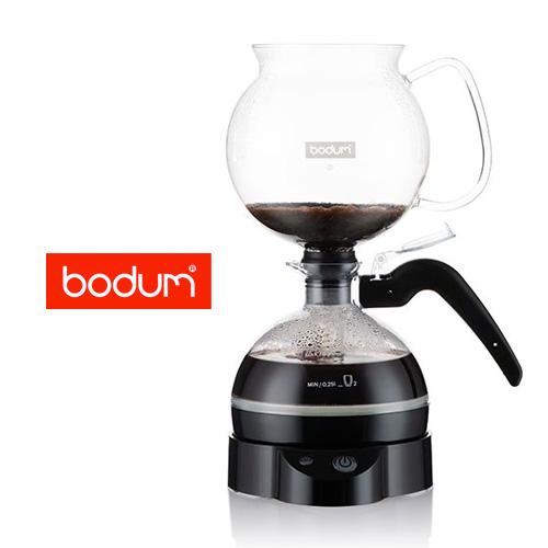 【ボダム】ePEBO 電気サイフォン式コーヒーメーカーに、 使いやすい0.5Lサイズが登場です
