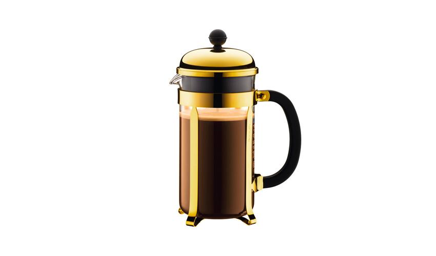BODUM(ボダム)CHAMBORD® フレンチプレスコーヒーメーカー ゴールド