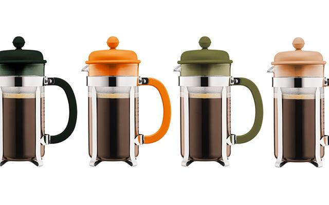 BODUM(ボダム) 2017年秋冬の新色 アースカラー フレンチプレスコーヒーメーカー