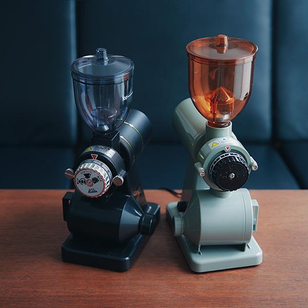【別注カラー】BONMAC(ボンマック)電動コーヒーミル BM-250N グレー! カリタ ナイスカットミルとの比較も。