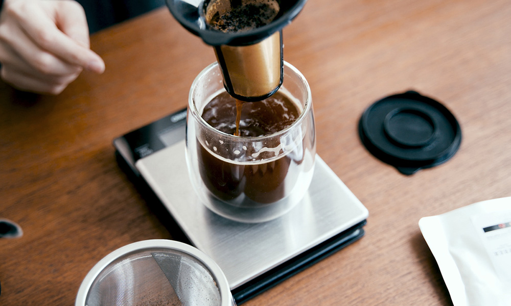 STANDART 11号 Amber Coffee Breweryのコーヒー