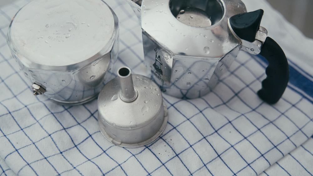 bialetti/ビアレッティ Brikka/ブリッカ 洗い方
