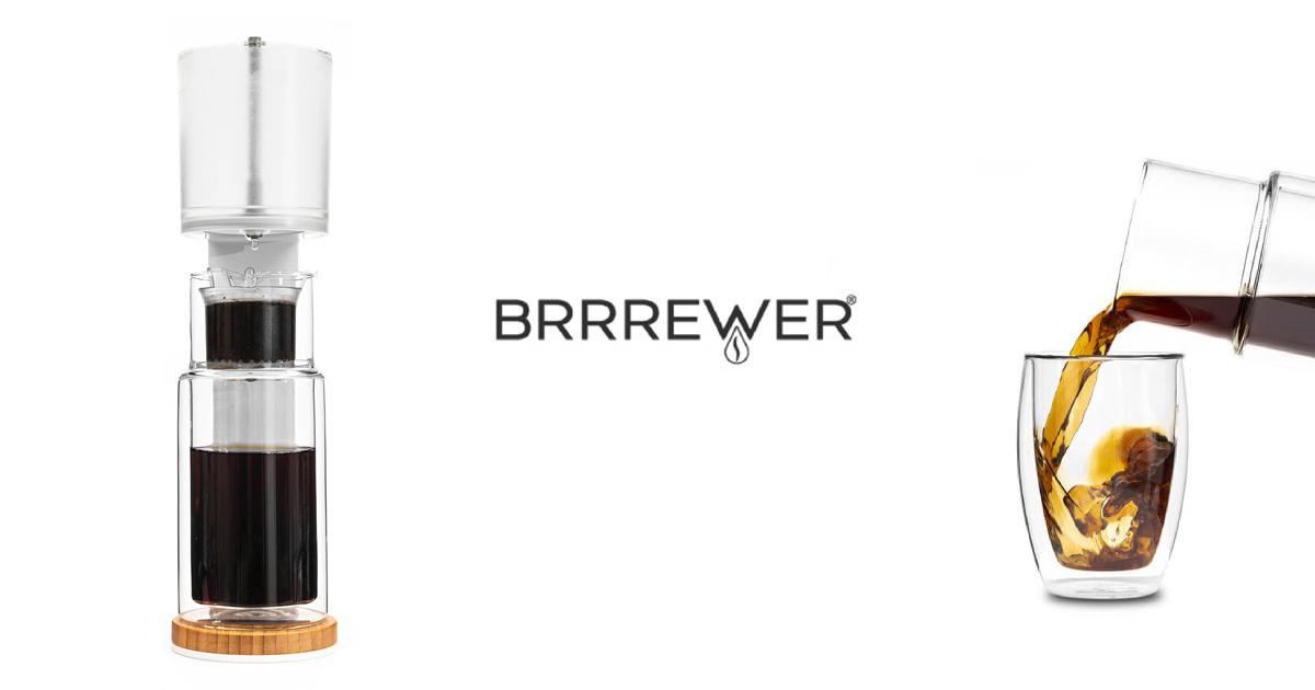 イタリア発、本格派水出しコーヒー器具  『BRRREWER/ブルーワー』発売開始!