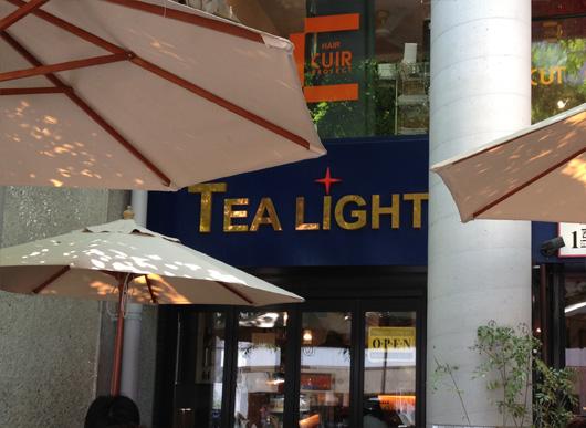 福岡 薬院にあるカフェ「TEA LIGHT」