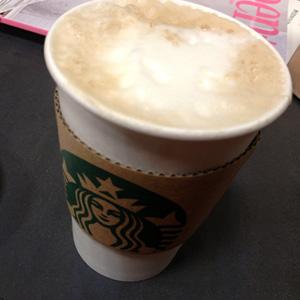 [スタバ カスタマイズ]カフェミストを豆乳&コーヒー多めで