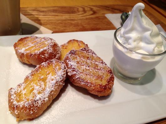 キャナルシティ博多 カフェ オットー・シクロで黒糖ラテ&フレンチトースト