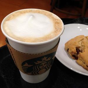 [スタバ カスタマイズ]カフェミスト コーヒー多め
