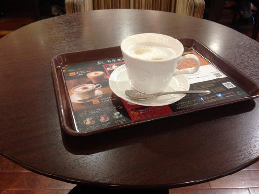 カフェ・ド・クリエのカフェラテ