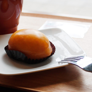 ハニー珈琲 高宮店のレモンケーキ、美味しすぎます。
