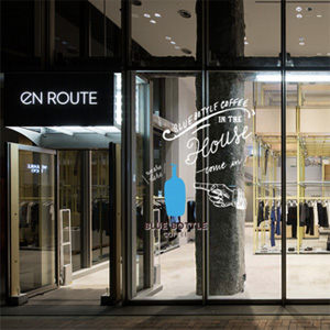 BLUE BOTTLE COFFEE、EN ROUTE GINZAに期間限定ショップをオープン!