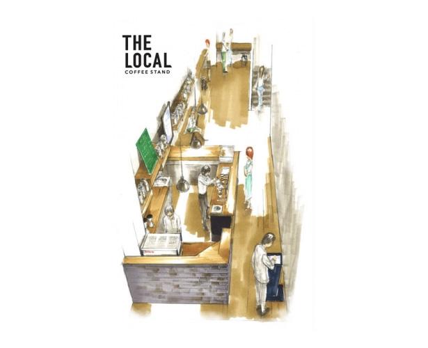 国内外の有名ロースターからセレクトしたコーヒーを味わえるデジタル コーヒースタンド『THE LOCAL』