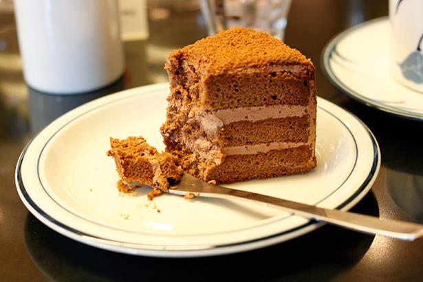 ツバクロコーヒー チョコレートケーキ