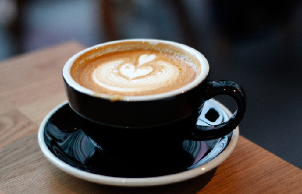 レックコーヒー 博多マルイ店 カフェラテ