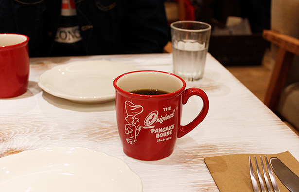 オリジナルパンケーキハウス コーヒー