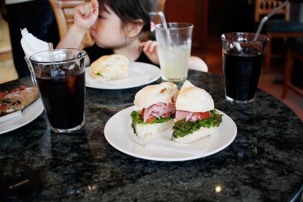 LA SPIGA(ラ・スピガ)のサンドイッチ
