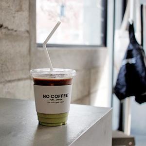 NO COFFEEで、ステンレスボトル買って、抹茶ラテにエスプレッソ追加して。