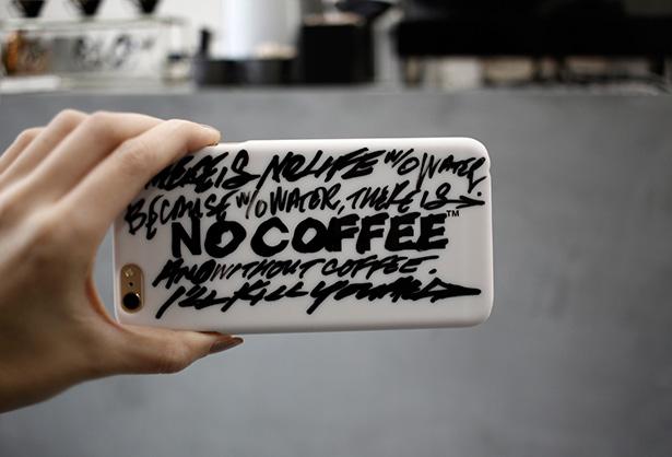NO COFFEE × MOGNO6. iPhoneケース
