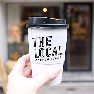THE LOCALで、GLITCH COFFEEのコーヒーを。