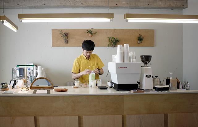 Coffee & Cake Stand LULU カウンター