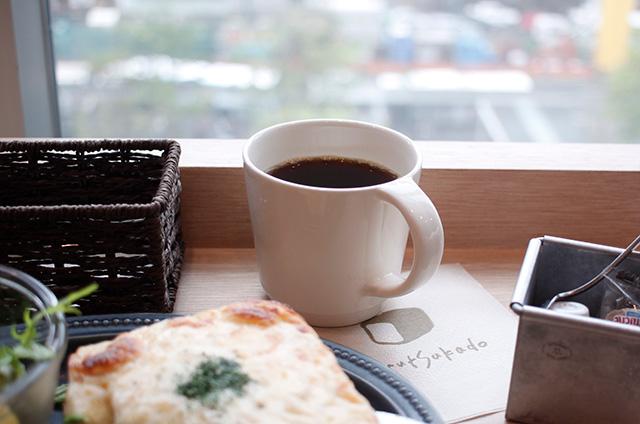 むつか堂カフェ アミュプラザ博多店 コーヒー