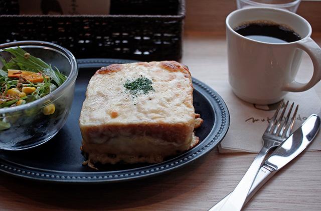 むつか堂カフェ アミュプラザ博多店 クロックムッシュ