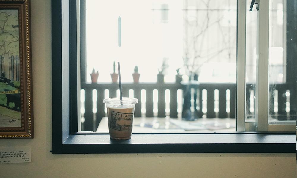 福岡のカフェ SUP STAND