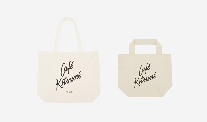 The Café Kitsuné トートバッグ