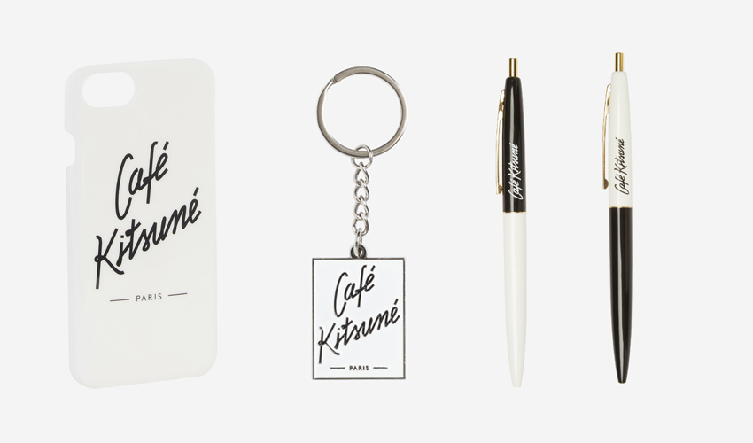 The Café Kitsuné iPhoneケース・ボールペン・キーリング