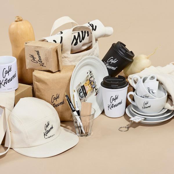 CAFE KITSUNE(カフェ キツネ)のアパレル & コーヒーコレクションが可愛すぎます。