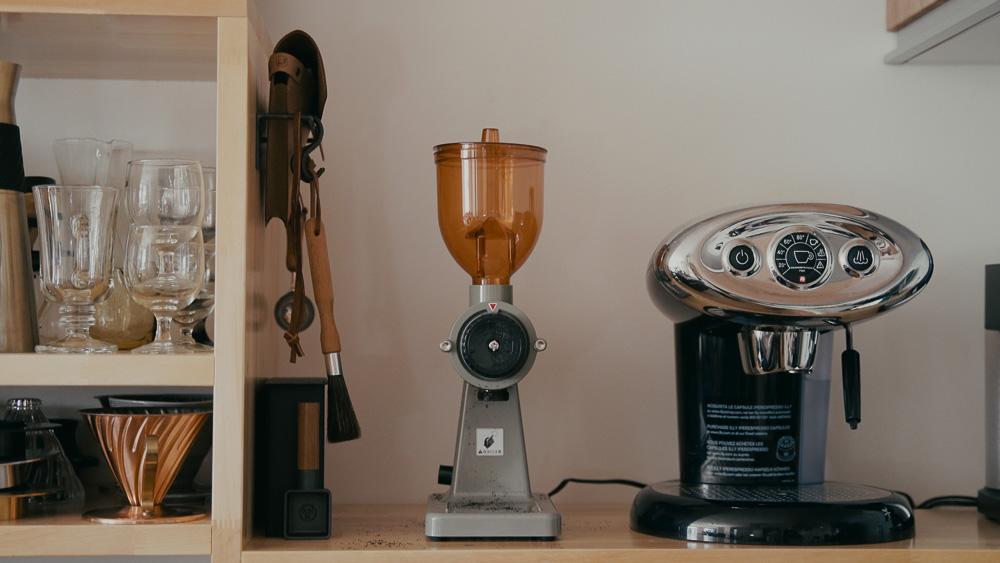 CAFE L'ETOILE DE MER 別注カラー ボンマックコーヒーグラインダー