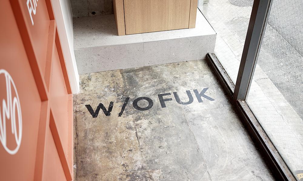 W/O STAND FUKUOKA お店の中