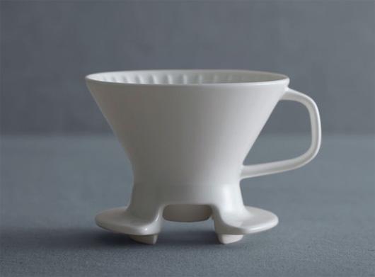 Caff(カフ)の「カップに直接注げるドリッパー」