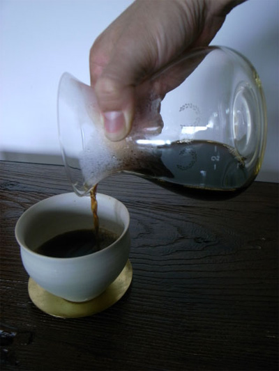 CAPIME COFFEE(カピン珈琲)のオリジナルコーヒーサーバー