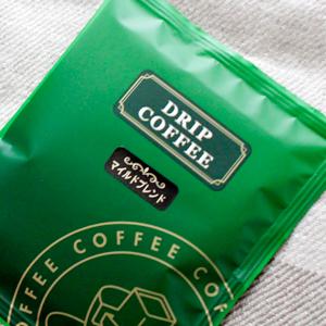 自家製焙煎珈琲萌香のドリップバッグコーヒー
