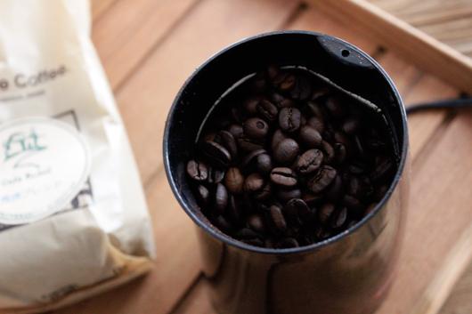 島根県松江にある自家焙煎珈琲 Cafe Kubel(カフェ クベル)が甥のために作った特製ブレンドコーヒー