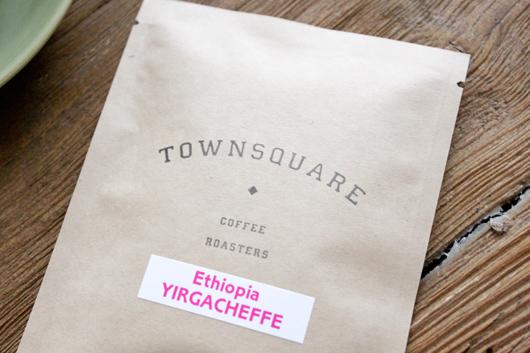 townsquare coffee roasters (タウンスクエア コーヒーロースターズ) のエチオピアイルガチェフェ