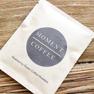 福岡舞鶴にあるMOMENT COFFEEのドリップバッグコーヒー