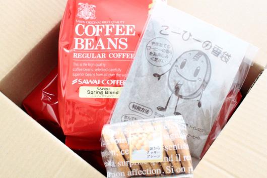 楽天の人気コーヒー店「澤井珈琲」のコーヒー福袋春味バージョン