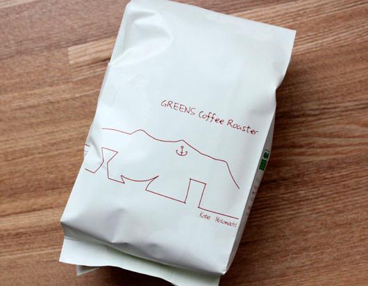 Greens Coffee Roaster(グリーンズコーヒーロースター)のタンザニアコーヒー