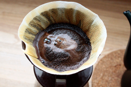 神戸元町のコーヒー店「グリーンズコーヒーロースター」のモトコーブレンド