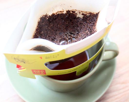 スペシャルティコーヒーの専門店 DE CICA(デシーカ)の1杯コーヒー「ゲイシャ」