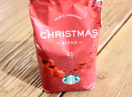 スターバックスコーヒーのクリスマスブレンド