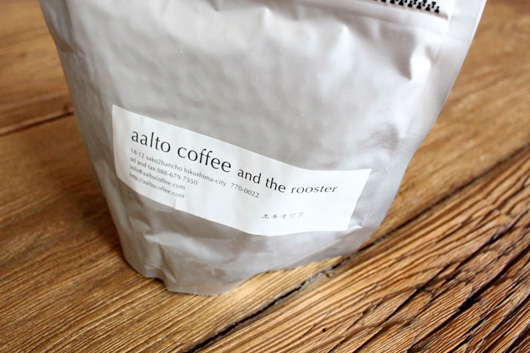 aalto coffee(アアルトコーヒー)のエチオピア