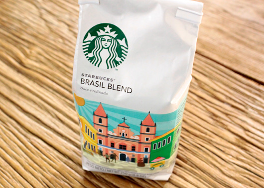 スターバックスコーヒー  季節のオススメ『スターバックス ブラジル ブレンド』