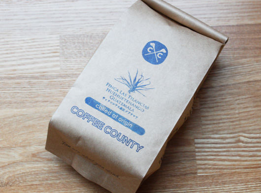 COFFEE COUNTYのグアテマラ(ティランシアス農園)