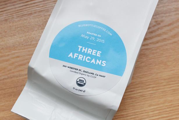 ブルーボトルコーヒー通販のブレンド THREE AFRICANS