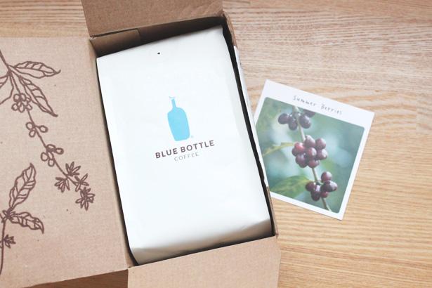 今月届いたブルーボトルコーヒーのブレンドは『SUMMER BERRIES』。